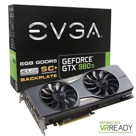 Nvidia EVGA GeForce GTX 980 Ti SC+ ACX 2.0