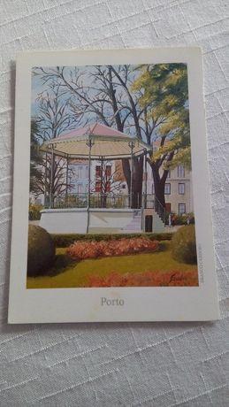 Postais de Portugal - Coretos de música nas cidades