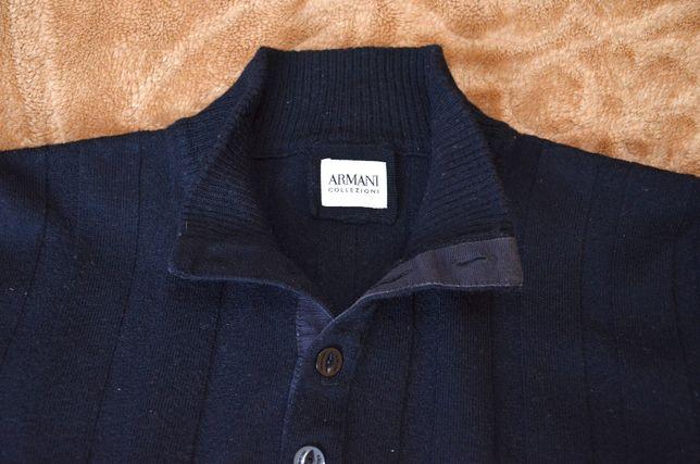 Sweter Armani Collezioni, rozm. 54-L, 100% wełna
