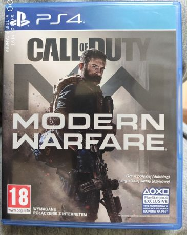 Call Of Duty Modern Warfare PL. - PS4