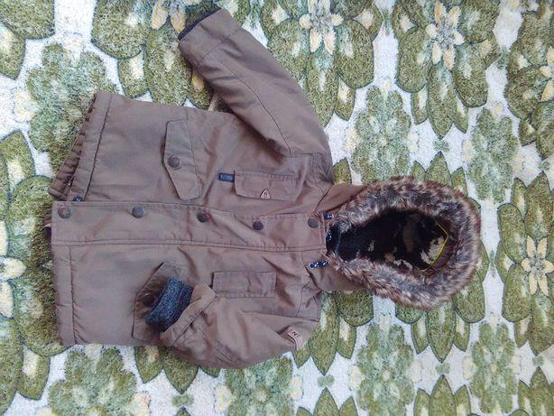 Куртка-парка на хлопчика