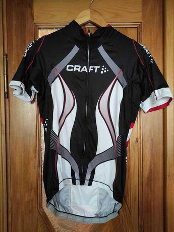 Велофутболка Craft крафт веломайка чоловіча мужская велоодяг велоодежд