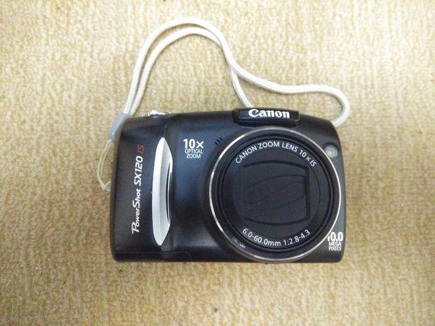 Фотоапарат Canon Power Shot SX120 IS + SD 8Gb