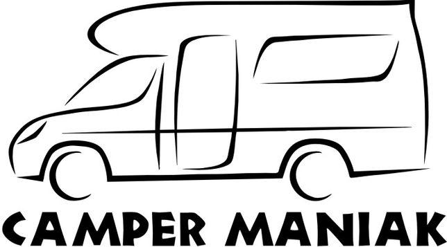 Naklejka Camper Maniak