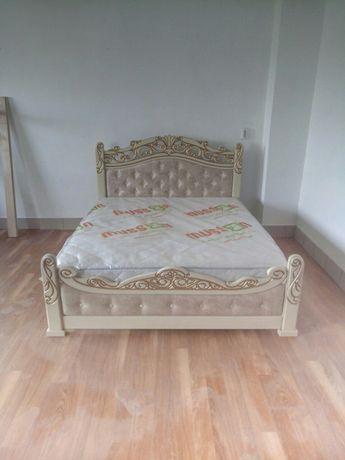 Продам нове деревяне ліжко у використанні не було жодного разу