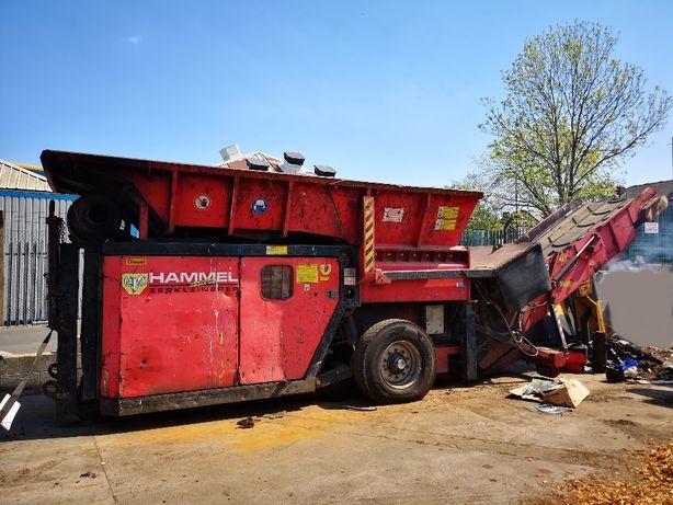 Wynajem rozdrabniacza do odpadów Hammel VB750D