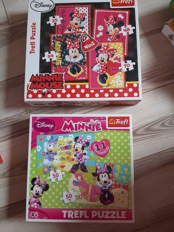 Puzzle myszka Miki 2 opakowania