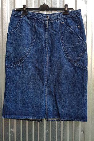 Spodnica jeansowa rozmiar XL XXL vintage