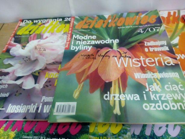 Działkowiec 2007 12 numerów