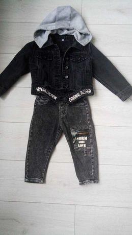 Продам стильный джинсовый костюм  на мальчика