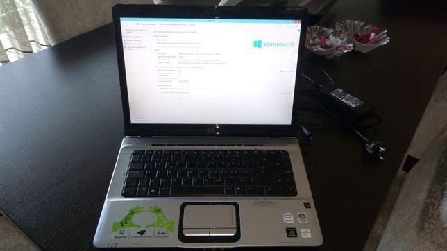 Portátil HP pavillion dv1600