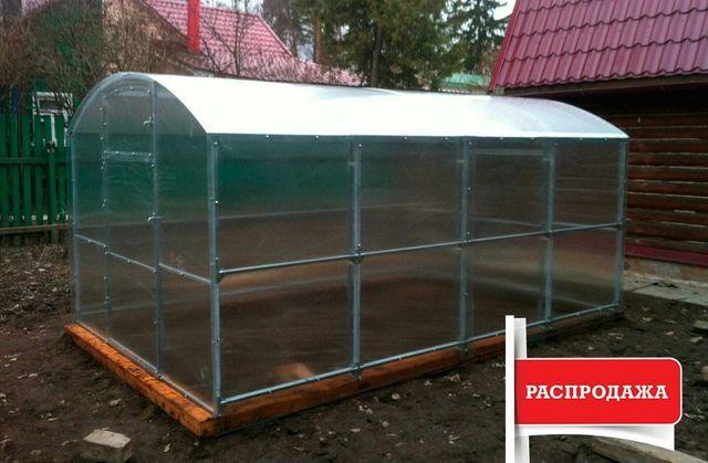 Теплица Урожайная Ч378-З Запорожье под Поликарбонат 5мм и Пленку