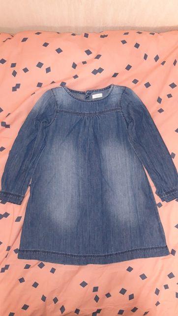 Джинсовые платье NEXT(110рост)