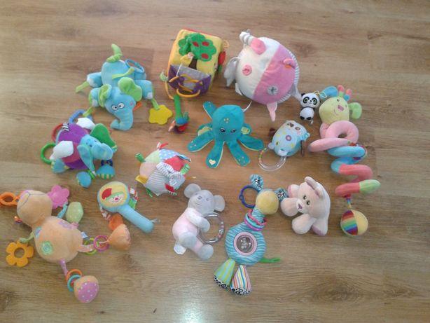 Zestaw 14 zabawek sensorycznych, edukacyjnych dla malucha