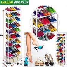Стойка для обуви на 30 пар,прочный стеллаж,обувная,органайзер,Полка
