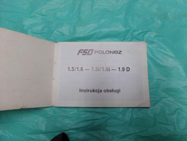 Instrukcja obsługi polonez