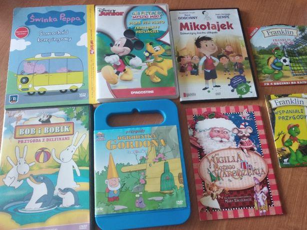 dvd Klub Przyjaciół Myszki Miki Peppa Mikołajek Franklin etc.