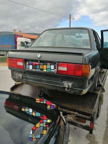 BMW 316i E30 1988 para peças 4 portas Boa mecânica