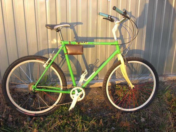 Rower miejski creme green