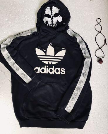 Оригинальное худи Adidas с лампасами,не Kappa,свежие коллекции