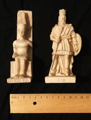 06- Deuses e divindades- Miniaturas Conjunto AMON-RA; ODIN
