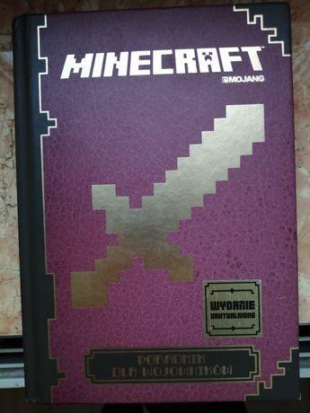 """Książka """"Dla Wojowników"""" Minecraft"""