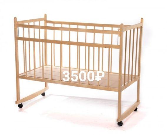 Детские кроватки, матрасы.