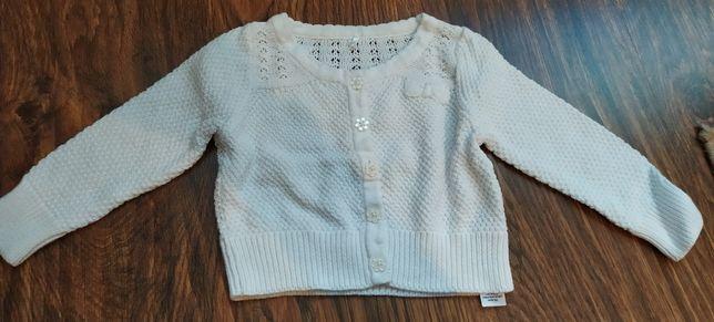 Sweter sweterek bolerko 74-80