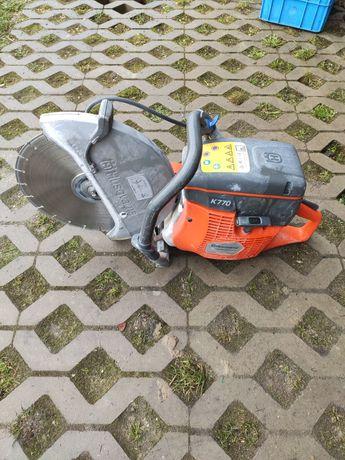 Przecinarka do betonu Husqvarna 770 używana 5 miesięcy gwarancja
