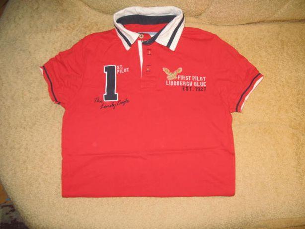 футболка поло подростковая lindbergh, оригинал Китай.размер S