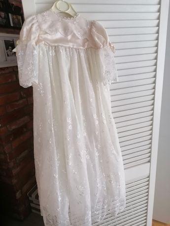 chrzest dziewczynka sukienka