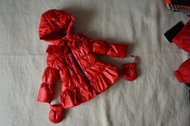 Куртка 74см 12мес