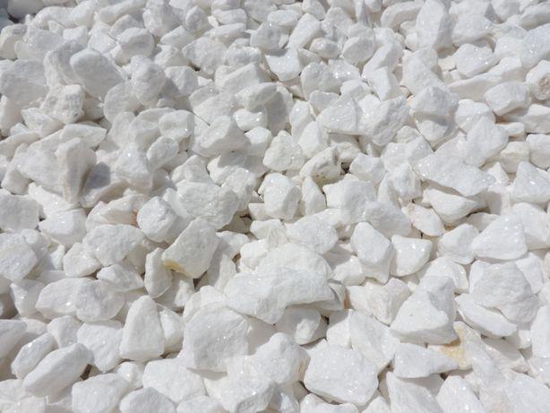 Grys biały Thasos Grecki Kora kamień do ogrodu Biała Marianna Thassos