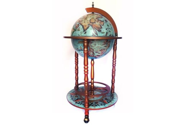 Глобус-бар настольный, 36 см сфера, 36001L-G