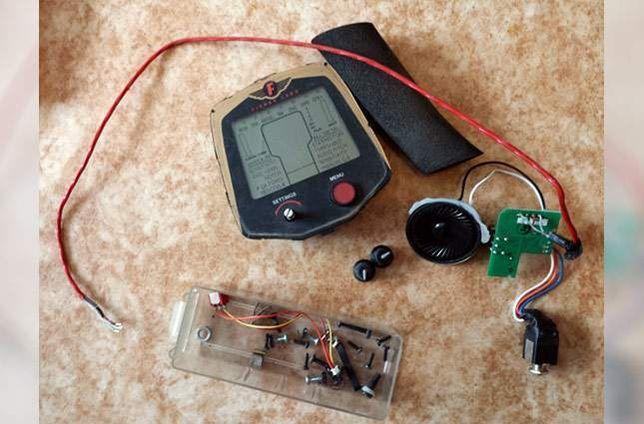 Conserto todos modelos de detectores de metais