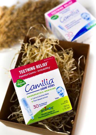 Camilia облегчение боли при прорезывании зубов