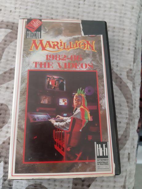 """Vendo Vhs Marillion """"The Videos 1982-86"""""""
