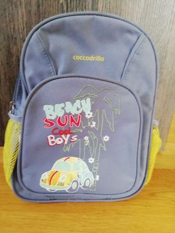 Plecak dla przedszkolaka - chłopca Coccodrillo