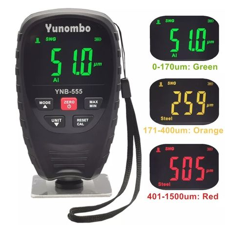 Толщиномер YUNOMBO YNB 555 Новинка 2021 года