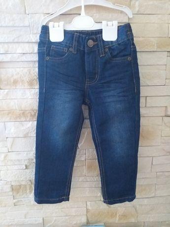 Spodnie jeans dla dziewczynki 92