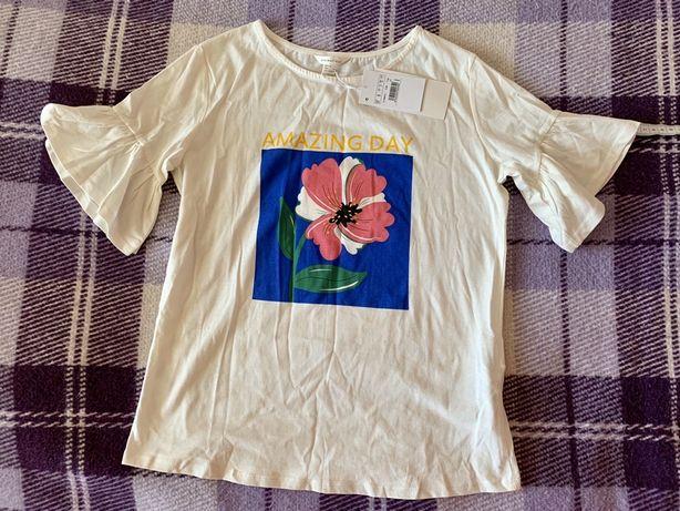 Женская футболка springfield, размер s