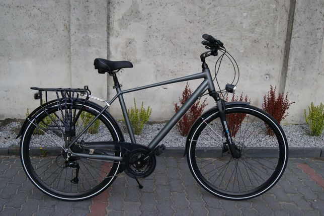 NOWY alu rower trekking TANDER koła 28'' hamulce hydrauliczne tarczowe