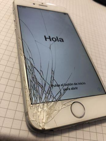 Iphone 6 pęknieta szybka - sprawny