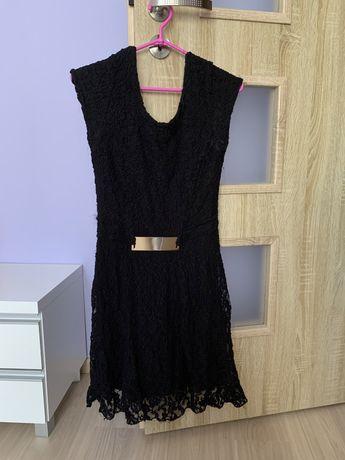czarna koronkowa sukienka roz. L/XL