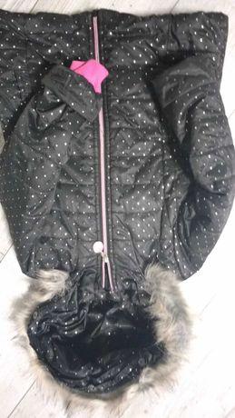 Kurtka zimowa dla dziewczynki coccodrillo 104