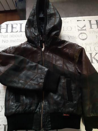 Кожанная куртка натуральная