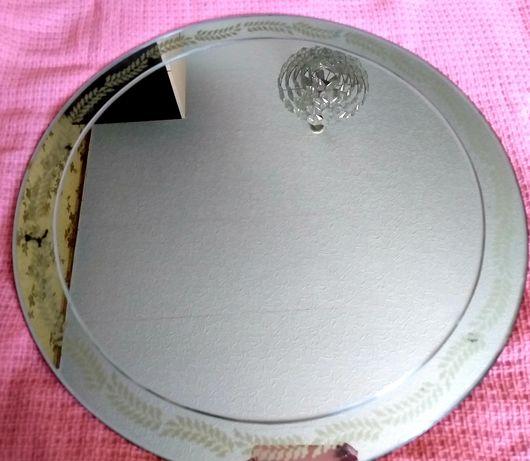 Зеркало настенное,диаметр 54-55см