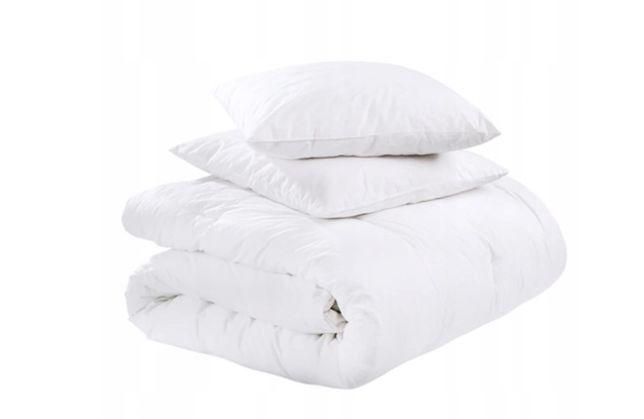 Całoroczna kołdra 200x220 +2 poduszki
