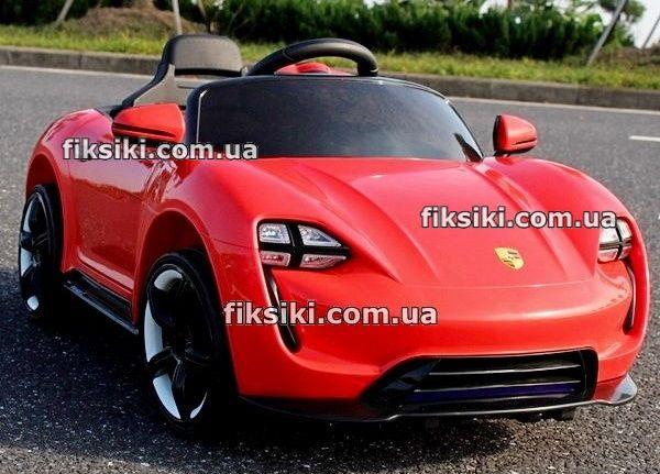 Детский электромобиль OLK76-14 красный, Дитячий електромобiль