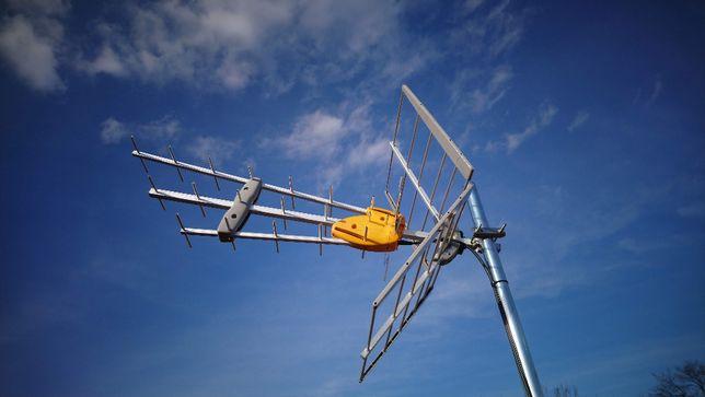 Montaż anten, instalacje antenowe DVB-T i SAT dzwoń 607.148.338